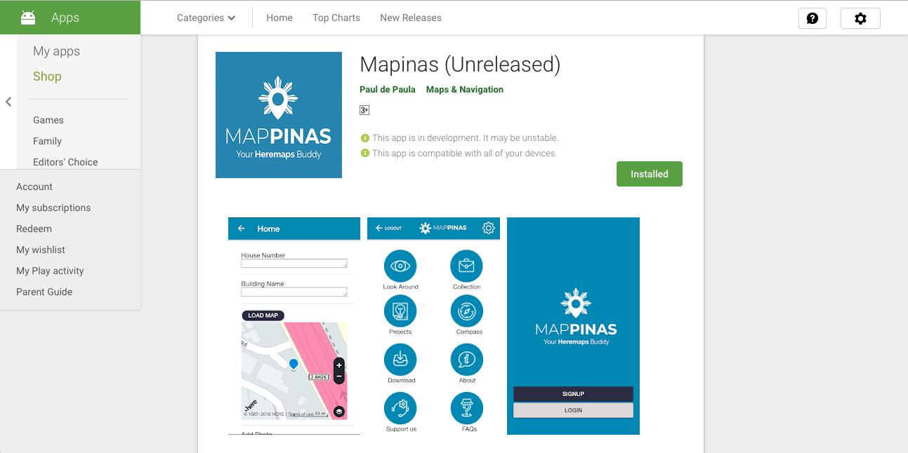 Ionic 3 framework + Drupal 8 Rest API + Jsonapi + Heremaps = Awesome